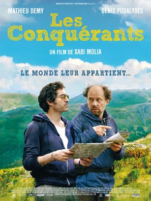 Les conquérants - French Movie Poster (thumbnail)