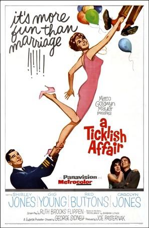 A Ticklish Affair - Movie Poster (thumbnail)