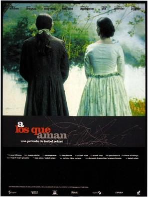 A los que aman - Spanish Movie Poster (thumbnail)