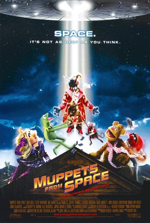Muppets From Space - Movie Poster (thumbnail)