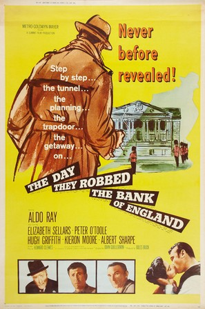 The Day They Robbed the Bank of England - Movie Poster (thumbnail)