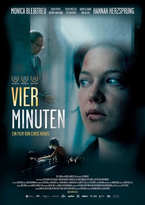 Vier Minuten - German Movie Poster (thumbnail)