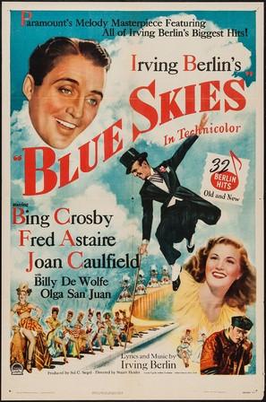 Blue Skies - Movie Poster (thumbnail)