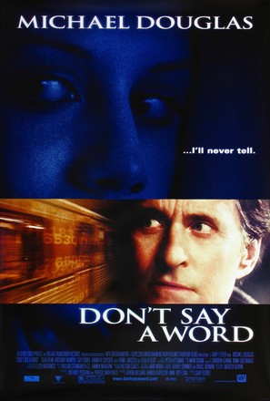 Don't Say A Word - Movie Poster (thumbnail)