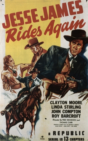 Jesse James Rides Again - Movie Poster (thumbnail)