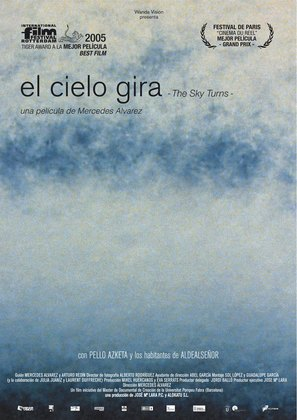 El cielo gira - Spanish Movie Poster (thumbnail)