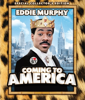 Coming To America - Blu-Ray movie cover (thumbnail)