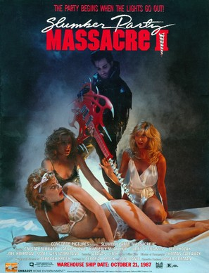 Slumber Party Massacre II - Video release poster (thumbnail)