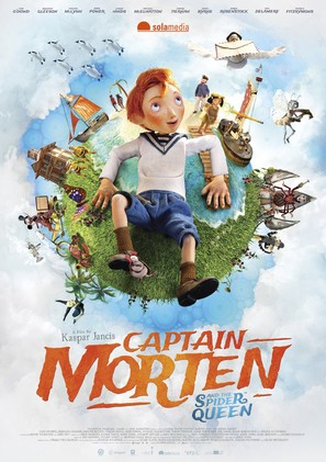 Captain Morten and the Spider Queen - Estonian Movie Poster (thumbnail)