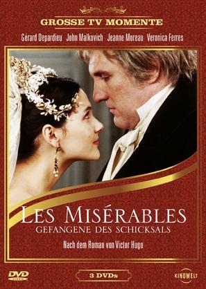 """Les misèrables"" - German DVD movie cover (thumbnail)"