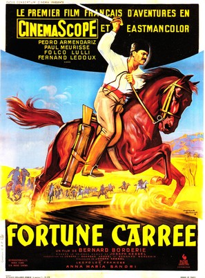 Fortune carrée - French Movie Poster (thumbnail)
