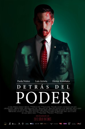 Detrás del Poder - Mexican Movie Poster (thumbnail)