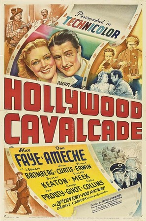 Hollywood Cavalcade - Movie Poster (thumbnail)