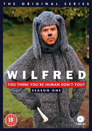 """""""Wilfred"""" - British DVD movie cover (thumbnail)"""