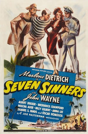 Seven Sinners - Movie Poster (thumbnail)