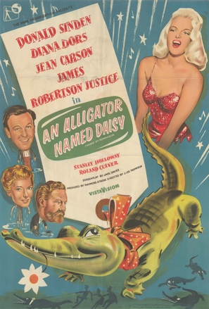 An Alligator Named Daisy - British Movie Poster (thumbnail)