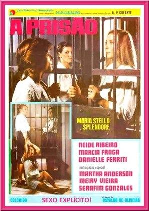 A Prisão - Brazilian Movie Poster (thumbnail)