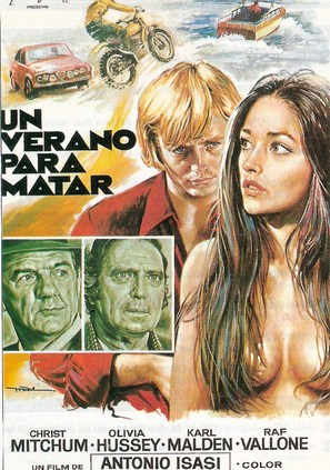 Un verano para matar - Spanish Movie Poster (thumbnail)