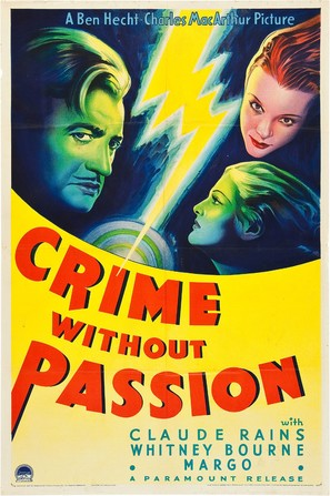 Crime Without Passion - Movie Poster (thumbnail)