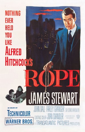Rope - Theatrical poster (thumbnail)