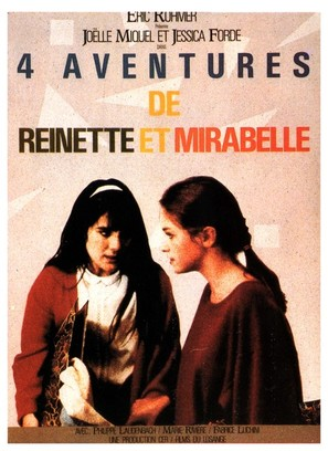 4 aventures de Reinette et Mirabelle - French Movie Poster (thumbnail)
