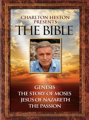 Charlton Heston Presents the Bible - DVD cover (thumbnail)