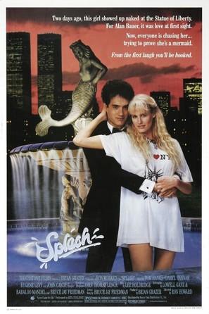 Splash - Movie Poster (thumbnail)
