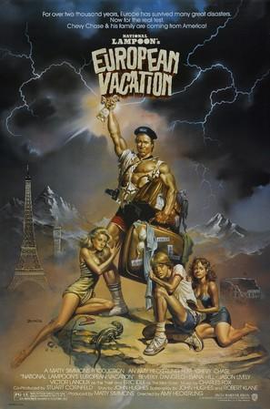 European Vacation - Movie Poster (thumbnail)