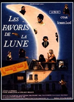 Favoris de la lune, Les - French Movie Poster (thumbnail)