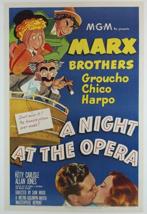 A Night at the Opera - Movie Poster (thumbnail)