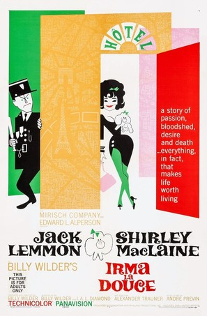Irma la Douce - Movie Poster (thumbnail)