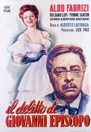 Il delitto di Giovanni Episcopo - Italian Movie Poster (thumbnail)
