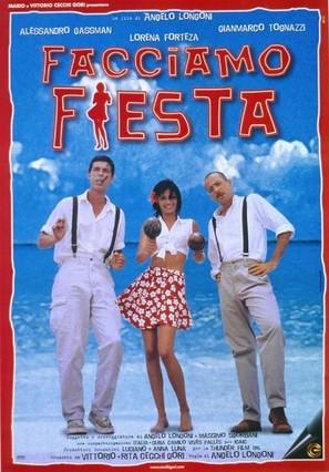 Facciamo fiesta - Italian Movie Poster (thumbnail)