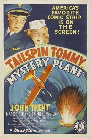 Mystery Plane - Movie Poster (thumbnail)