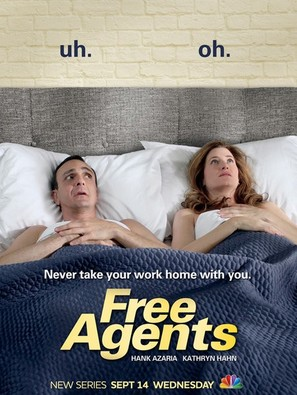 """Free Agents"" - Movie Poster (thumbnail)"