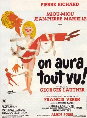 On aura tout vu - French Movie Poster (thumbnail)