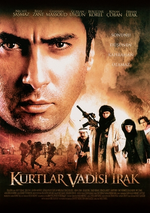 Kurtlar vadisi - Irak - Turkish Movie Poster (thumbnail)