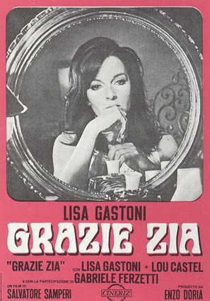 Grazie zia - Italian Movie Poster (thumbnail)
