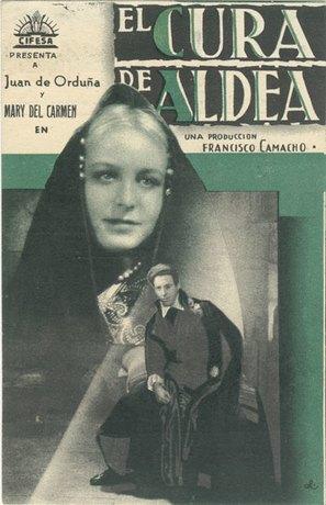 Cura de aldea, El - Spanish Movie Poster (thumbnail)