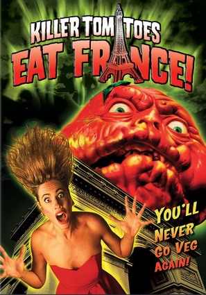 Killer Tomatoes Eat France! - poster (thumbnail)