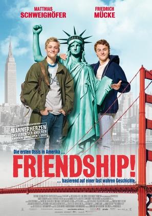 Friendship - German Movie Poster (thumbnail)