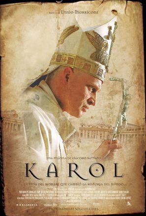 Karol, un Papa rimasto uomo - Italian Movie Poster (thumbnail)