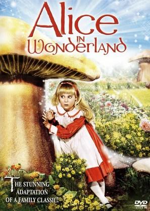 Alice in Wonderland - DVD movie cover (thumbnail)