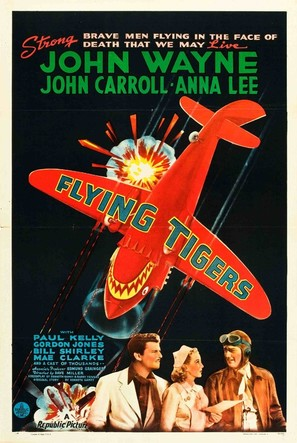 Flying Tigers - Movie Poster (thumbnail)