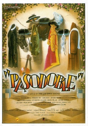Pasodoble - Spanish Movie Poster (thumbnail)