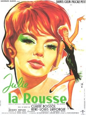 Julie la rousse - French Movie Poster (thumbnail)