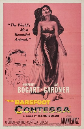 The Barefoot Contessa - Movie Poster (thumbnail)