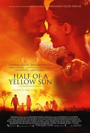 Half of a Yellow Sun - British Movie Poster (thumbnail)
