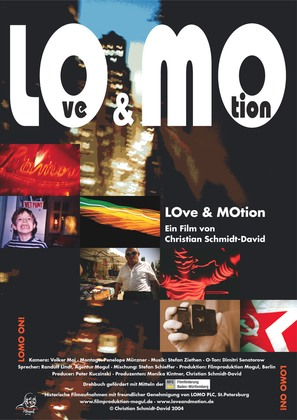 LOve & MOtion - German poster (thumbnail)