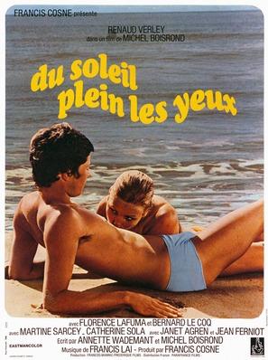 Du soleil plein les yeux - French Movie Poster (thumbnail)